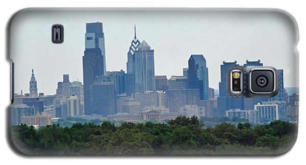 Philadelphia Green Skyline Galaxy S5 Case