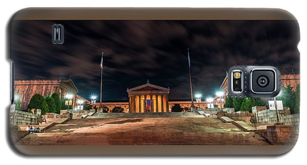 Galaxy S5 Case featuring the photograph Philadelphia Museum Of Art by Marvin Spates