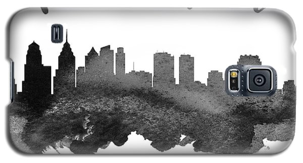 Philadelphia Pennsylvania Skyline 18 Galaxy S5 Case by Aged Pixel