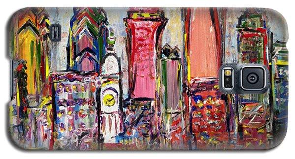 Philadelphia Skyline 232 1 Galaxy S5 Case by Mawra Tahreem