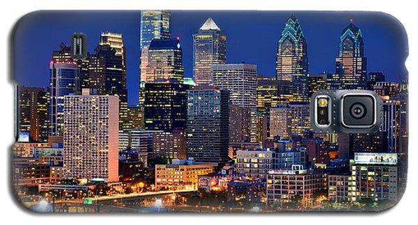 Philadelphia Skyline At Night Galaxy S5 Case