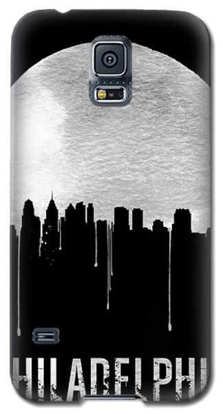Philadelphia Skyline Black Galaxy S5 Case