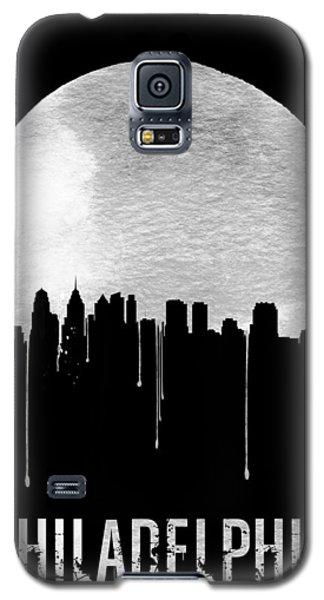 Philadelphia Skyline Black Galaxy S5 Case