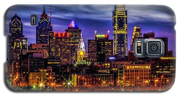 Galaxy S5 Case featuring the photograph Philadelphia Skyline by Nick Zelinsky