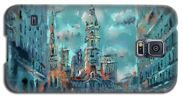 Philadelphia Street Galaxy S5 Case