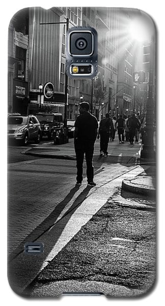 Philadelphia Street Photography - 0943 Galaxy S5 Case by David Sutton