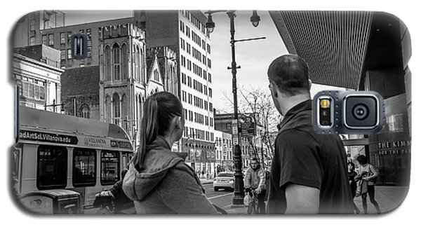 Philadelphia Street Photography - Dsc00248 Galaxy S5 Case by David Sutton