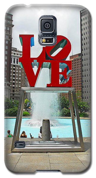 Philadelphia's Love Park Galaxy S5 Case