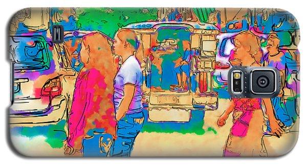 Philippine Girls Crossing Street Galaxy S5 Case