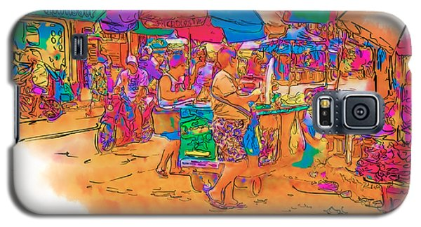 Philippine Open Air Market Galaxy S5 Case