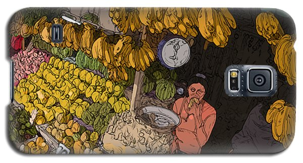 Philippines 3575 Saging Sales Lady Galaxy S5 Case