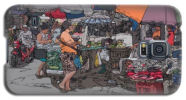 Philippines 708 Market Galaxy S5 Case