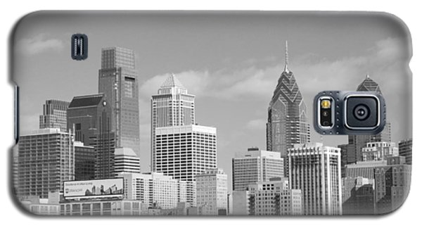 Philly Skyscrapers Black And White Galaxy S5 Case