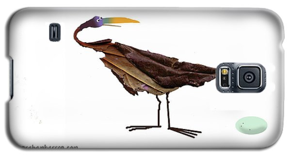 Philosophical Bird Galaxy S5 Case