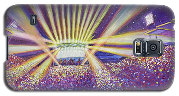 Galaxy S5 Case featuring the painting Phish At Dicks 2016 by David Sockrider