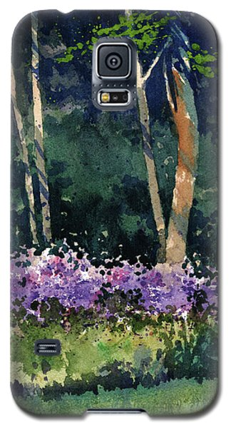 Phlox Meadow, Harrington State Park Galaxy S5 Case