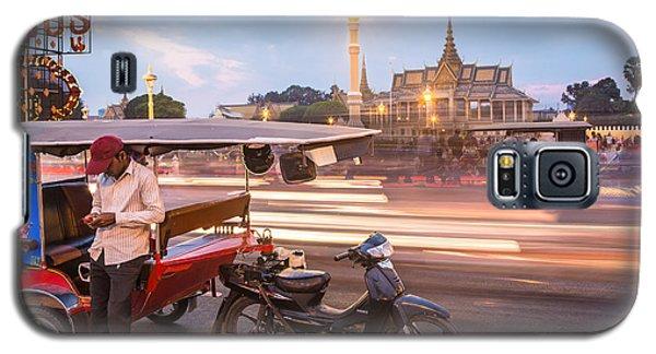 Phnom Penh Tuk Tuk Galaxy S5 Case