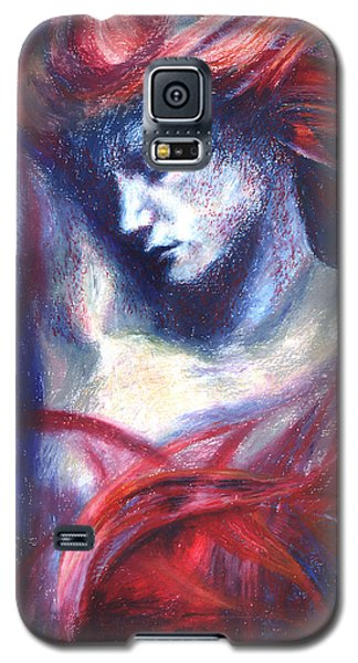 Galaxy S5 Case featuring the painting Phoenix Fire by Ragen Mendenhall