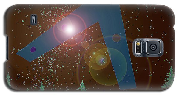 Galaxy S5 Case featuring the painting Phoenix Lights Ufo by James Williamson