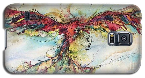 Phoenix Rainbow Galaxy S5 Case