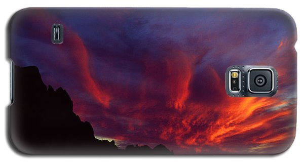 Phoenix Risen Galaxy S5 Case by Randy Oberg