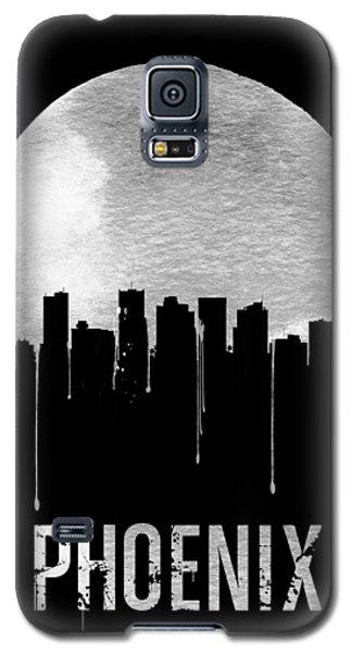 Phoenix Skyline Black Galaxy S5 Case by Naxart Studio