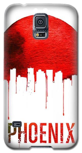Phoenix Skyline Red Galaxy S5 Case by Naxart Studio