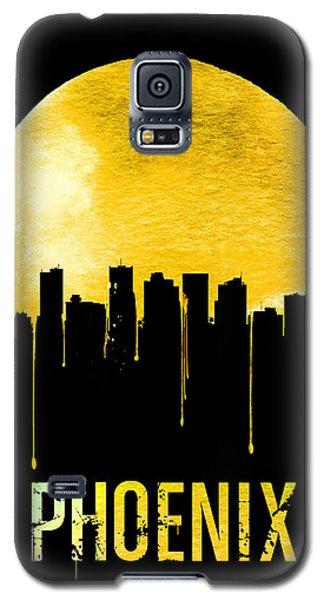 Phoenix Skyline Yellow Galaxy S5 Case by Naxart Studio