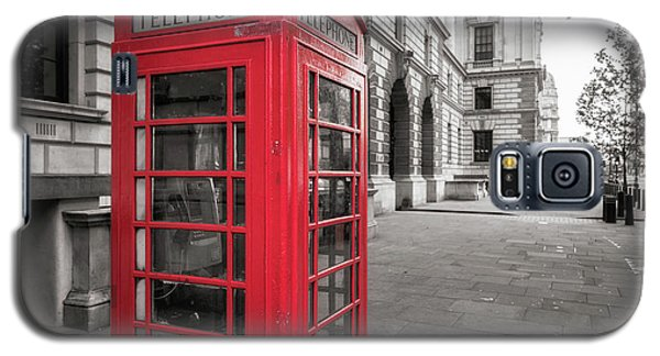 Phone Booths In London Galaxy S5 Case