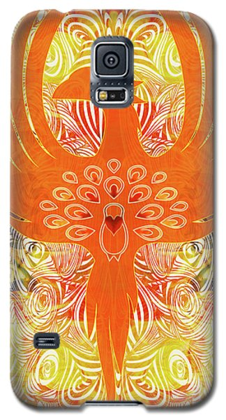 Phonix Rising Abstract Healing Art By Omashte Galaxy S5 Case