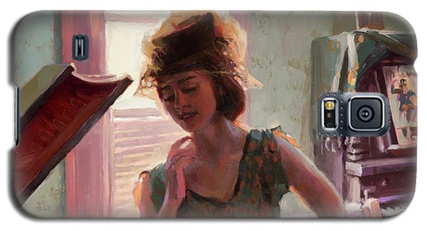 Ostrich Galaxy S5 Case - Phonograph Days by Steve Henderson