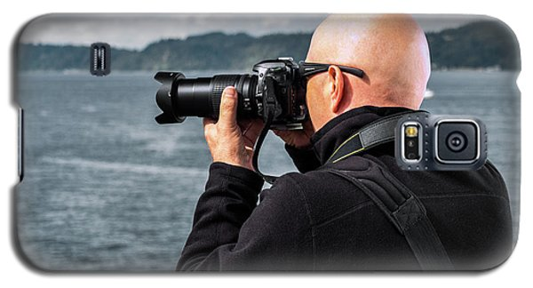 Photographer At Work Galaxy S5 Case