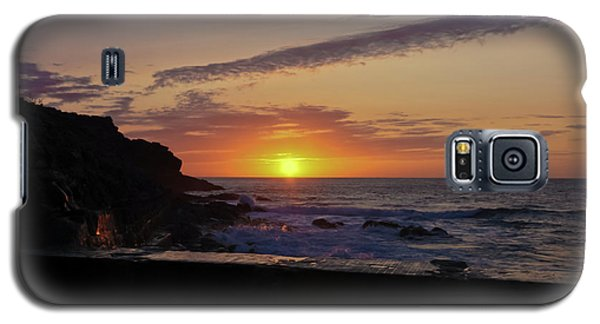 Photographer's Sunset Galaxy S5 Case by Terri Waters