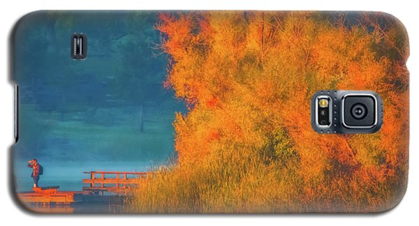 Galaxy S5 Case featuring the photograph Photographing The Sunrise by Marc Crumpler