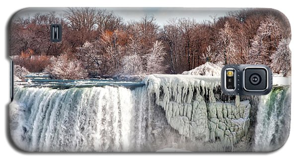 Niagara Winter Galaxy S5 Case by Gouzel -
