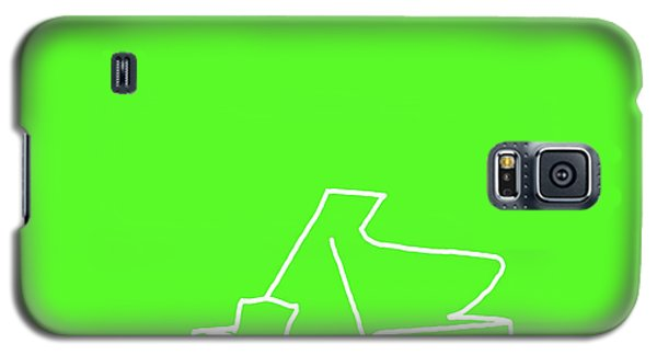 Galaxy S5 Case featuring the digital art Piano In Green by Jazz DaBri