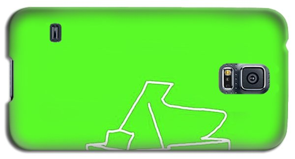 Piano In Green Prints Available At Galaxy S5 Case