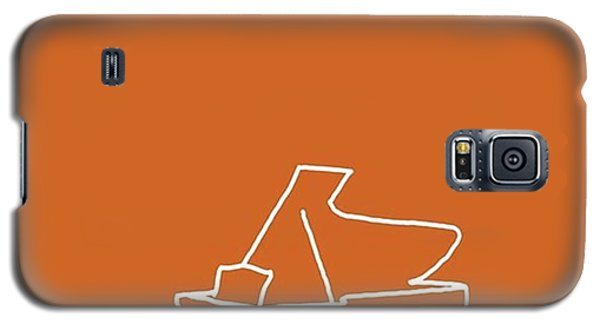 Piano In Orange Prints Available At Galaxy S5 Case