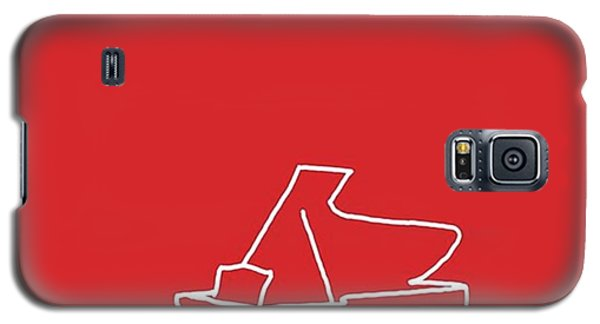 Piano In Red Prints Available At Galaxy S5 Case
