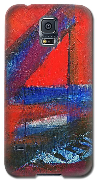 Piano In The Red Room Galaxy S5 Case by Walter Fahmy