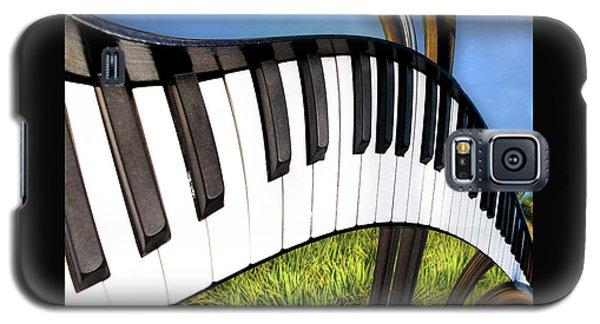 Piano Land Galaxy S5 Case