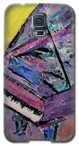 Piano Pink Galaxy S5 Case