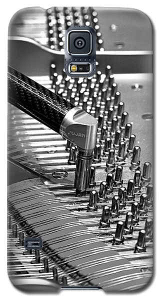Piano Tuning Bw Galaxy S5 Case