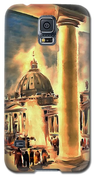 Piazza San Pietro In Roma Italy Galaxy S5 Case