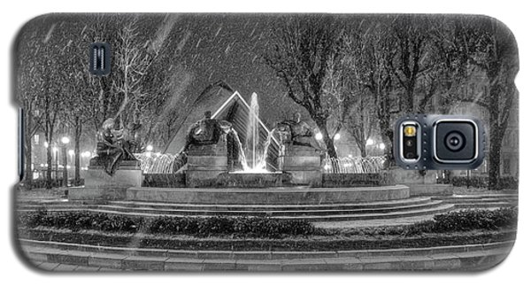 Piazza Solferino In Winter-1 Galaxy S5 Case