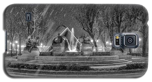 Piazza Solferino In Winter-1 Galaxy S5 Case by Sonny Marcyan