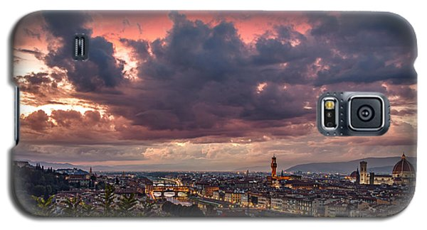 Piazzale Michelangelo Galaxy S5 Case by Giuseppe Torre