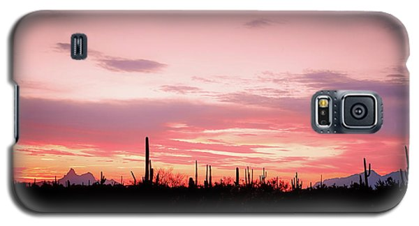 Picacho Sunset Galaxy S5 Case