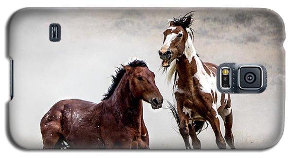 Picasso - Wild Stallion Battle Galaxy S5 Case by Nadja Rider