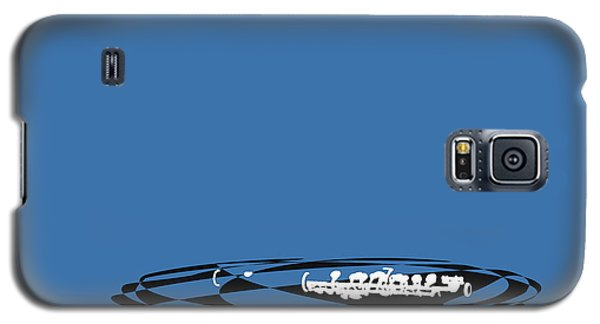Galaxy S5 Case featuring the digital art Piccolo In Blue by Jazz DaBri